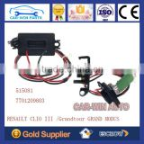 7701209803 515081 HEATER BLOWER MOTOR RESISTOR RENAULT CLIO 3 Grandtour GRAND MODUS AC HEATING FAN CONTROL REGULATOR MODULE