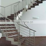 save space used spiral stainless steel modern staircase/stair