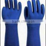 PVC working gloves coated pvc gloves