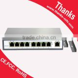 Thanks 9 Port POE switch with 8 POE ports 15.4W 8 port POE switch