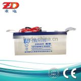 12V 200AH high quality valve regulated lead acid solar gel battery deep cycle battery/ups battery