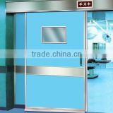 Guangzhou clean room doors for hospital, automatic sliding door for operating room, hospital door glass window