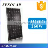 China PV manufacturer solar panel ce 250w 260w poly for home solar energy system                                                                         Quality Choice