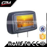 "Hot selling 8"" Car Pillow Headrest Monitor DVD Player without DVD Driver car mp3 player"