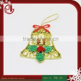 Plastic Christmas Jingle Bell Chrismas Party Favor Decoration Crafts Christmas Ornament