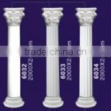 Direct sale high quality polyurethane decoration pillar roman column roman columns crowns