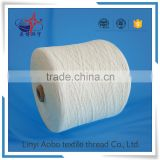 cheap raw white and dyed polyester sewing thread for bag and bale / 100% polyester bag sewing thread