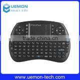 2016 hot sales 2.4GHz Mini wireless keyboard i8 2.4G Wireless Keyboard Touchpad Google TV Box Media Control