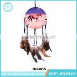 New design Horse Dream Catcher With Eathers For Indian Home Decorations With Your LOGO Dream Catcher