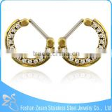 Newest Design Gold Plated Septum Nose Ring Fashion Septum Piercing