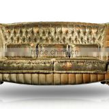 Royal style sofa set gold embroidery sofa antique sofa A55160