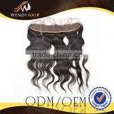 Raw Viet Nam New Charming dyeable and bleachable 2012 Newest 13x4in silk base lace frontal closure