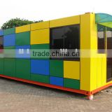 CE approved of widly use prefabricated restaurant, container restaurant , Restaurant building