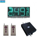 China wholesale market used outdoor digital signs sale IP65 waterproof led gas price changer displays