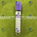 China export quality plastic vacuum blood collection test tube