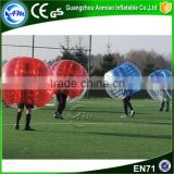 Hot sale inflatable walk in plastic wubble bubble ball bubble soccer set for hire                                                                                                         Supplier's Choice