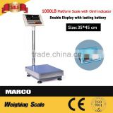 Acs platform electronic 300kg weighing scale