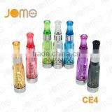 High quality ce4 atomizers,1.6ml ce4 e cig review,7 colors e go ce4 for ego battery from Jomo