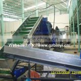 LDPE, HDPE Agricultural Film Crushing & Washing Recycling Machines Line