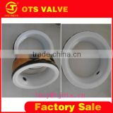 VP-LY-006 ptfe high anti-corrosive all chemicals anti-rust seat of butterfly valve wafer valve seat ring