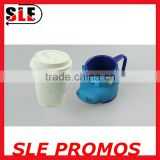 New Custom Custom Animal Shaped Eco-friendly Plastic Mug,Wholesale High Quality Promotional Gift Unique 3D Mug Cup Manufacture