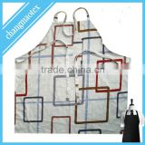 100% cotton custom design printed kitchen apron