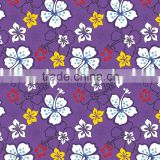 Hot Wholesale waterproof polyester fabric printed bathroom shower curtain with flowery Design