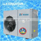 Air source swimming pool heater equipment,pool and spa heat pump, Heating capacity 4.5~50kw,R410A,COP 5,CE,SAA,C-TICK,50(60hz)