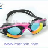 2016 New Design Mirror Coating Professional Swimming Goggles with Factory Price