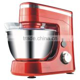 Plastic gear system 600W stepless speed stand mixer& red kneading machine with dough hooks                                                                         Quality Choice