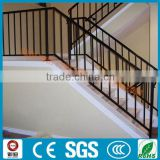 interior home used classic wrought iron stair railing