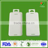 Wholesale Eco-friendly 100% Biodegradable Sugarcane Fiber Thermoforming Bagasse Pulp Moulding Process Phone Case Packaging Tray