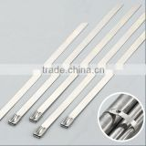 Stainless Steel Cable Tie /ladder type stainless steel ties/universal clamping band 4.6*120