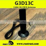 13dbi High-gain 3G CRC9 Antenna with 2m cable