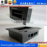 XAX12Alu OEM ODM customized laser cut bend weld sheet aluminum detecting instrument chassis