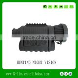 Multifunctional Digital monocular Infared Rangefinder Day Night Vision Goggles Night Vision Scope for Hunting