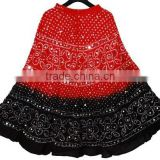 buy boho bandhej cotton Skirt bnadhini Womens wear Indian Ethnic Skirt