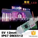 Outdoor waterproof IP67 5V 12V smart rgb led pixel module