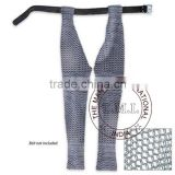 Medieval Battle Ready Chausses Chain Mail Leggings - Chainmail Leg Armor