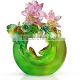 lotus and goldfish fresh flower happy wedding marriage room decoration