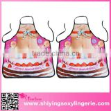 factory directly fashion Beauty Cake printed cheap apron