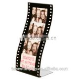 Excellent craft clear L shaped acrylic 2 x 6 photo booth strip frames manufacturer