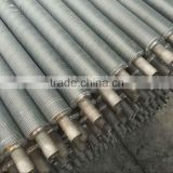 Carbon steel SA179 composited aluminum spiral extruded fin tube, extruded serrated fin tube , aluminum alloy 1060 SB221