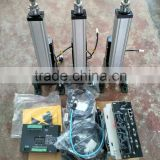 3 linear actuator +control box+drive 600mm stroke for game platform 4D entertainment facilities hardware TM9