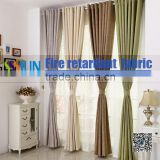 Free Sample European Style Polyester Blackout Washable Window Fabric/Curtain With Excellent Flame Retardant Performance