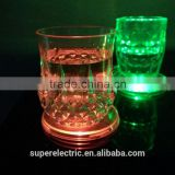 Hot Sale LED Tea Cup Coasters, Light up LED Coasters With Colorful Lights Color Changing Lighters