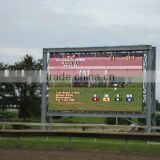 outdoor video led ad board tv wall