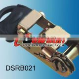Dawson Black powder coated ratchet buckle For Ratchet Tie Down Using