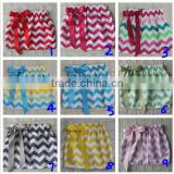 Newest Model Chevron Kids Short Skirt Baby Girls Fancy Mini Skirt