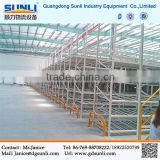 Box Beam Pallet Racking Construction Mezzanine Industrial Steel Platform